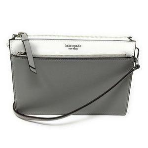 Kate Spade Cameron Zip Crossbody Bag Bright White